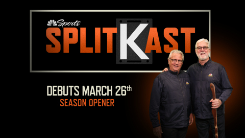 """SplitKast"" Debuts on Season Opener, Thursday, March 26th San Francisco Giants at Los Angeles Dodgers on NBC Sports Bay Area (Graphic: Business Wire)"