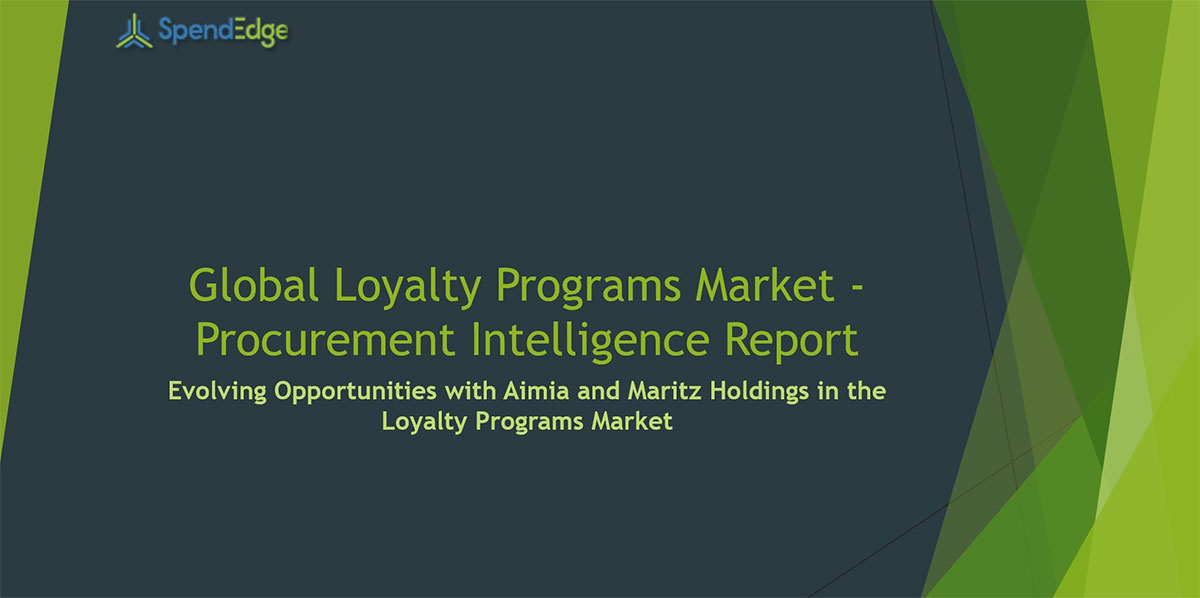 SpendEdge, a global procurement market intelligence firm, has announced the release of its Global Loyalty Programs Market - Procurement Intelligence Report.