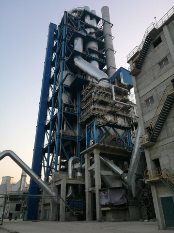 First VEGA boiler, installed at the Huaibei Zhongbei Cement plant in Anhui Province, China (Photo: Business Wire)