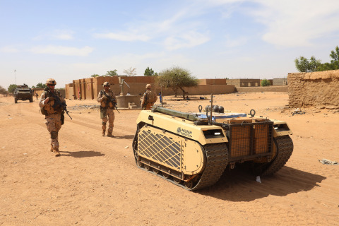 The THeMIS UGV has been deployed to Mali since early 2019. (Photo: Business Wire)