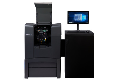 The Stratasys J826 3D Printer extends the power of world-class J8-series 3D printers to mid-volume enterprise shops and educational institutions (Photo: Business Wire).