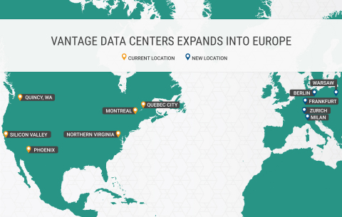 Vantage Global Locations (Graphic: Business Wire)
