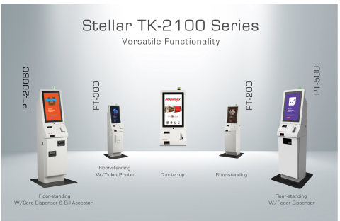 Modular Kiosk: Stellar TK-2100 Series (Photo: Business Wire)
