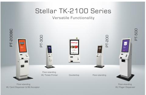 Kiosque modulaire - Série TK 2100 Stellar. (Photo: Business Wire)