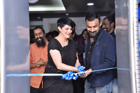 PTW opens the new India flagship studio in Bangalore. From left: Sijo Jose, Regional President, North America and India; Deborah Kirkham, CEO; and Kasturi Rangan, Chief Product Officer.  (Photo: Business Wire)