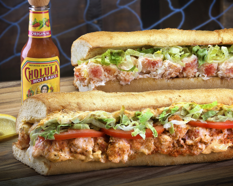 New Cajun Lobster sub joins classic Lobster & Seafood sub as part of seasonal menu (Photo: Business Wire)