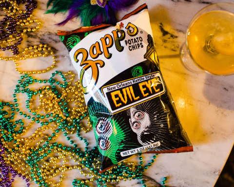 New ... Zapp's® New Orleans Kettle Style Evil Eye™ Potato Chips (Source Zapp's)