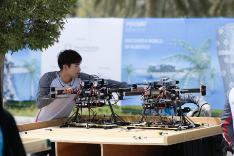 MBZIRC 2020 will reveal the latest innovations in robotics and AI applications (Photo: AETOSWire)