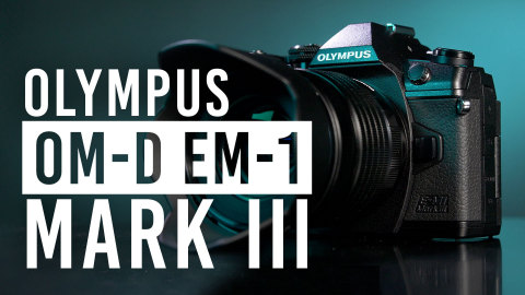 The new Olympus OM-D E-M1 Mark III camera and M.Zuiko Digital ED 12-45mm f/4.0 PRO lens (Photo: Business Wire)