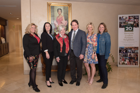 2019 Piper Fellows with Piper Trust president and CEO Mary Jane Rynd; (from left) Tiffany Fairall, Arianne Roy, Mary Jane Rynd, Charlie Brown, Angie Rodgers, Sherri Friend. (Photo: Business Wire)