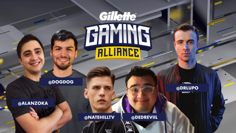 Gillette® and Twitch announce the return of the Gillette Gaming Alliance (Photo: Business Wire)