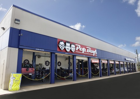 A Pep Boys Service Center in Puerto Rico. (Photo: Business Wire)