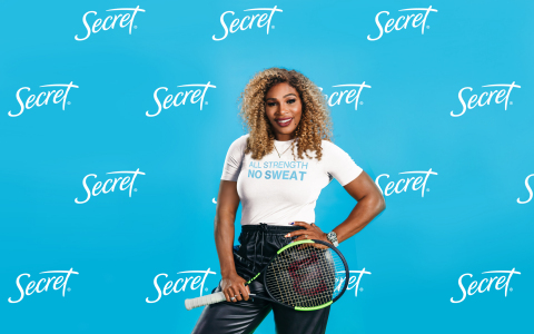 Secret Deodorant Announces Partnership With Serena Williams (Photo: Business Wire)