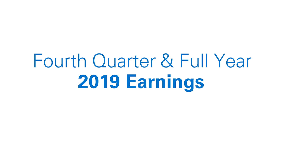 Global Payments Reports Fourth Quarter and Full Year 2019 Results