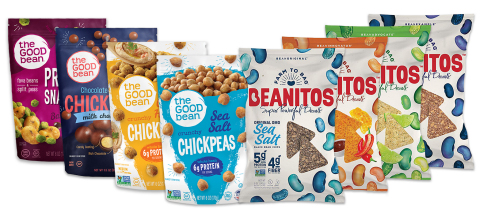 The Good Bean & Beanitos Product Lineup. (Photo: Business Wire)