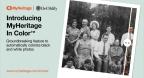 MyHeritage lance une fonctionnalité révolutionnaire pour coloriser automatiquement les photos en noir et blanc (Photo: Business Wire)