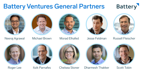Battery Ventures General Partners (Graphic: Business Wire)