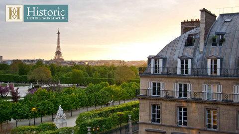 Hotel Regina Louvre (1900) Paris, France (Photo: HistoricHotelsWorldwide.com)