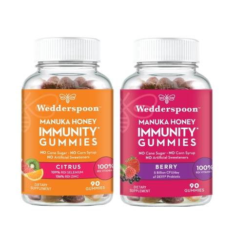 Wedderspoon Unveils First-of-its-Kind Manuka Immunity Gummies (Photo: Business Wire)