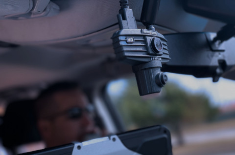 Automated license plate recognition (ALPR) is now part of the WatchGuard 4RE® in-car video system. (Photo: Business Wire)
