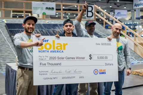 Sol-Up named first-ever Solar Games Champion (Photo: Business Wire)