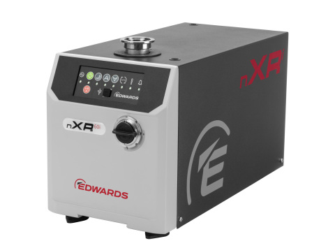 Edwards nXRi緊湊型乾式真空泵浦(照片:美國商業資訊)