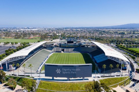HSBC LA SEVENS, part of the HSBC World Rugby Sevens Series, will take over Southern California anchored by events at Dignity Health Sports Park in Carson, Calif., on Feb. 24-March 1. (Photo: Business Wire)