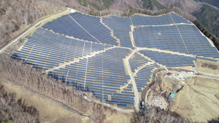 14.7MW Yamanashi Project (Operational) (Photo: Business Wire)
