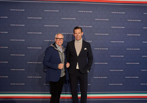 Tommy Hilfiger and Daniel Grieder (Photo: Business Wire)