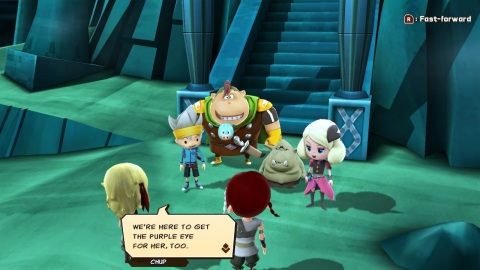 In SNACK WORLD: THE DUNGEON CRAWL – GOLD, join the heroic treasure hunters Chup, Mayonna and the gang as they make their way through thrilling battles and procedurally generated dungeons on a slapstick, comedy-filled quest to restore order to the land of Tutti-Frutti. (Graphic: Business Wire)