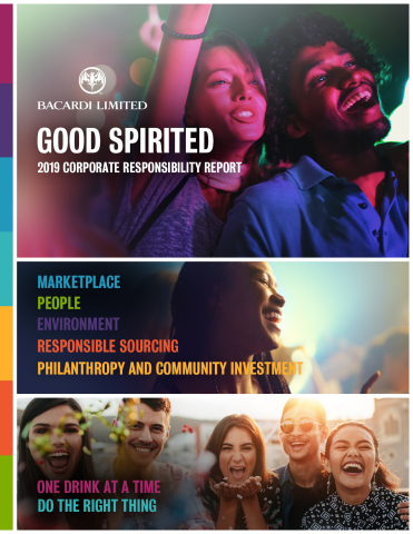 Good Spirited - Bacardi releases FY19 Good Spirited Corporate Responsibility report (Photo: Business Wire)