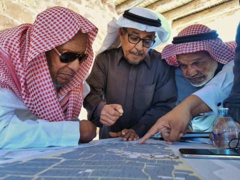 AlUla's community is at the heart of the newly revealed masterplan (Photo: AETOSWire)