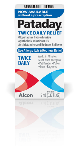 Pataday Twice Daily Relief® Packaging Image  (Photo: Business Wire)