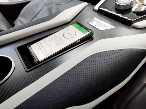 Spark Connected's The Beast in the Vega Hypercar cabin (Photo: Business Wire)
