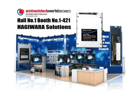 Hagiwara Solutions Co., Ltd at Hall 1 Booth # 1-421 (Graphic: Business Wire)
