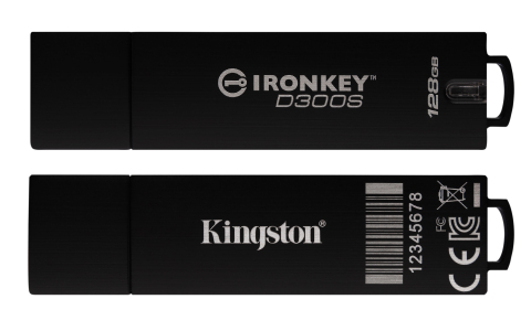 Kingston's IronKey D300 series features an advanced level of security that builds on the features that made IronKey well-respected, to safeguard sensitive information. (Photo: Business Wire)