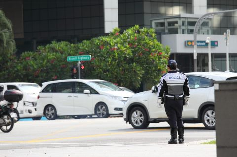 Singapore Police Force (Photo: Business Wire)