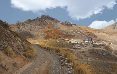 Yauricocha Mine Peru (Photo: Business Wire)
