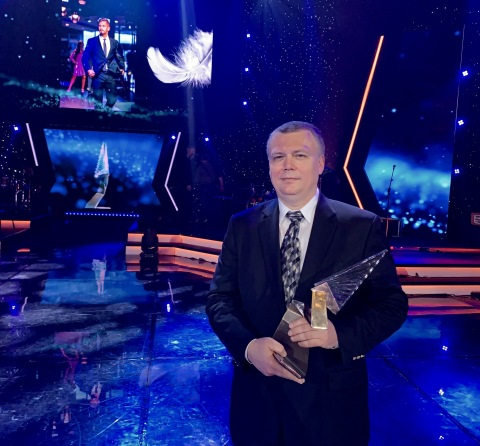 Výkonný riaditeľ spoločnosti Tachyum Dr. Radoslav Danilák získal ocenenie Krištáľové krídlo za rok 2019 v kategórii Inovácie a startupy (Photo: Business Wire)