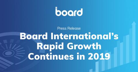 Das rasante Wachstum von Board International setzt sich auch 2019 fort (Graphic: Business Wire)