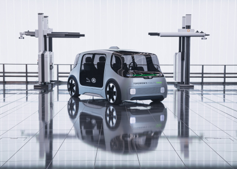Jaguar Land Rover Unveils Future of Urban Mobility with  bold new concept vehicle, Project Vector (Photo: Business Wire)