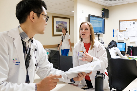 Part of the reason that Northwell Health was named to Fortune's 100 Best Companies to Work For is the health system's collaborative and supportive atmosphere for employees. (Photo: Business Wire)