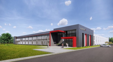 Architectural rendering of Audentes Therapeutics new state-of-the-art gene therapy manufacturing facility planned in Sanford, NC. (Graphic: Business Wire)