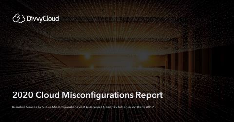 DivvyCloud 2020 Cloud Misconfigurations Report (Photo: Business Wire)