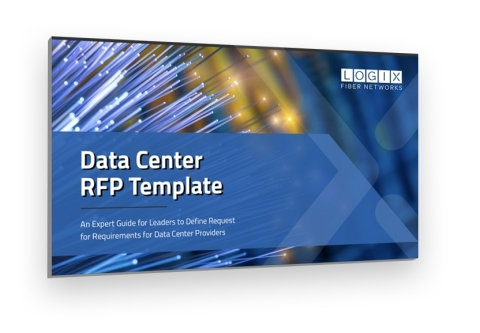 LOGIX Fiber Networks Data Center RFP Template is a key resource for firms selecting colocation providers. (Graphic: Business Wire)