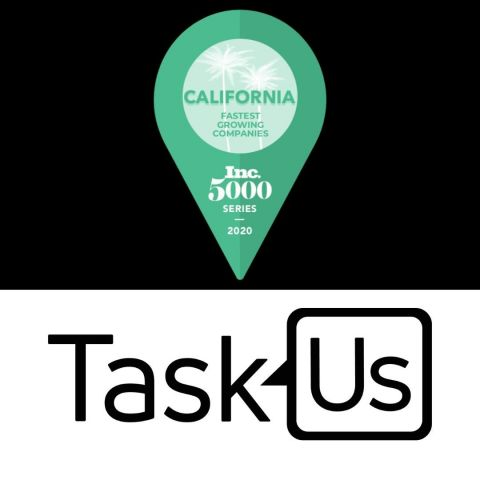 TaskUs Named to Inc. Magazine's First-Ever List of California's Fastest-Growing Private Companies (Graphic: Business Wire)