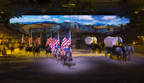 Dolly Parton's Stampede opens for its 26th season on Feb. 21 in Branson, Missouri. (Photo: Business Wire)