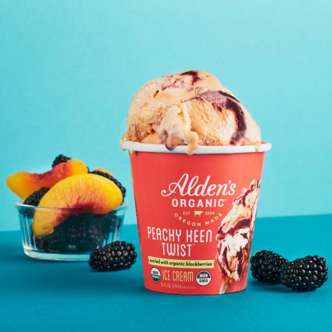 Alden's Organic Peachy Keen Twist (Photo: Business Wire)