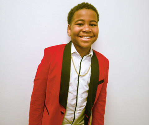 Kid rapper and pint-sized powerhouse Young Dylan will join the Nickelodeon family with the premiere of the brand-new live-action series, Tyler Perry's Young Dylan, on Saturday, Feb. 29, at 8:30 (ET/PT).(Photo: Business Wire)