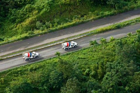 CEMEX reduced its net specific CO2 emissions by more than 22%. (Photo: Business Wire)